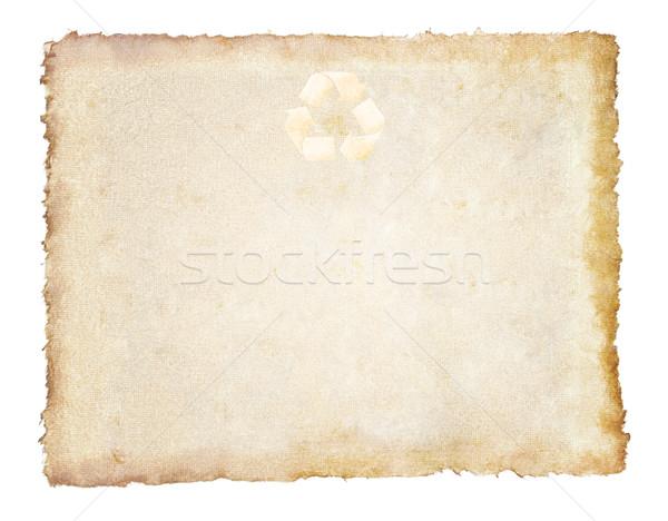 Vintage gerecycleerd papier kantoor textuur ontwerp Stockfoto © FrameAngel
