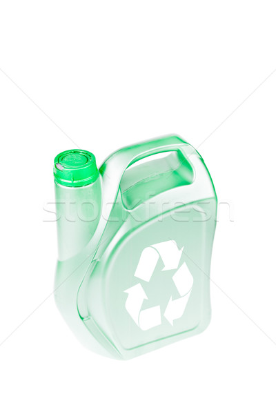 Oil canister recycle concept Stock photo © FrameAngel