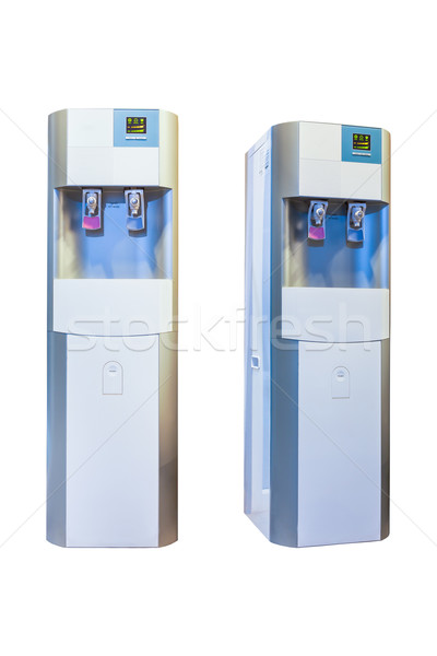 Electric water cooler machine isolated on a white background Stock photo © FrameAngel