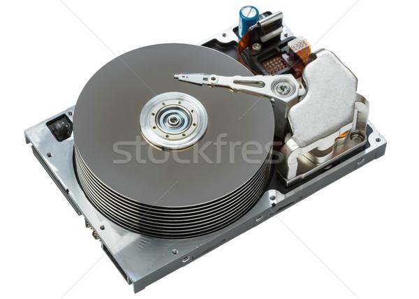close up of hard disk  Stock photo © FrameAngel