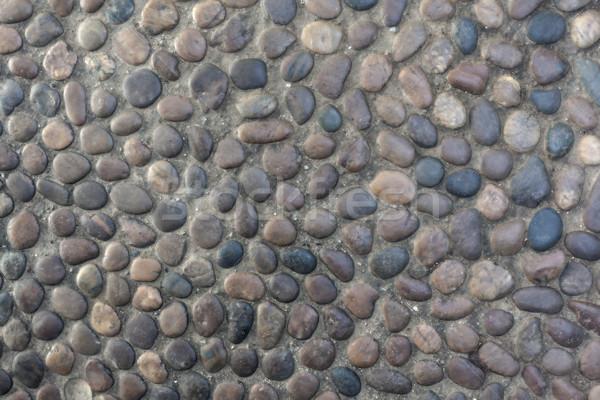 Stock fotó: Sóder · kő · textúra · minta · tengerpart · természet