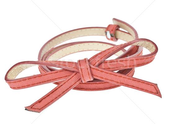colorful belt  on white background Stock photo © FrameAngel
