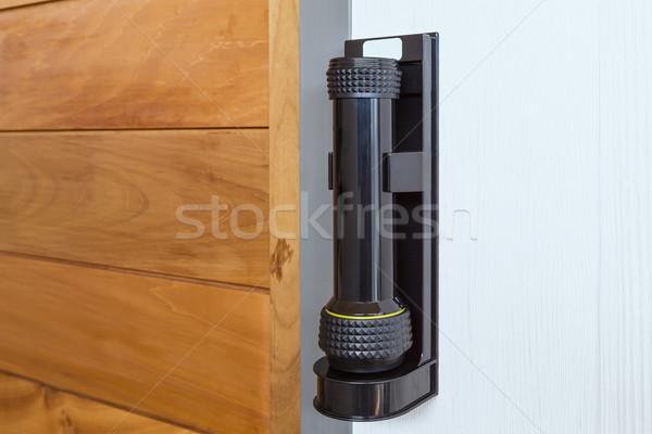 Awaryjne drzwi pilny przypadku noc Zdjęcia stock © FrameAngel