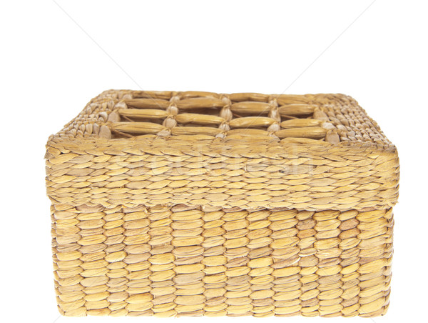 wicker basket isolated on white background  Stock photo © FrameAngel