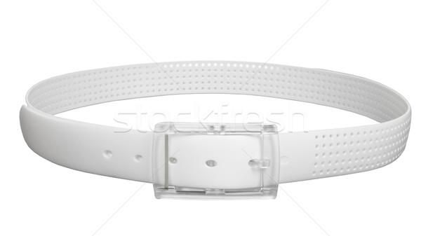 belt white color isolated Stock photo © FrameAngel