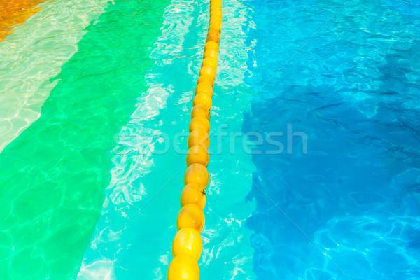 желтый буй воды природы безопасности Сток-фото © FrameAngel
