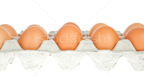 eggs in the package Stock photo © FrameAngel