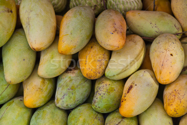 Fruits mangue santé ferme marché agriculture Photo stock © FrameAngel