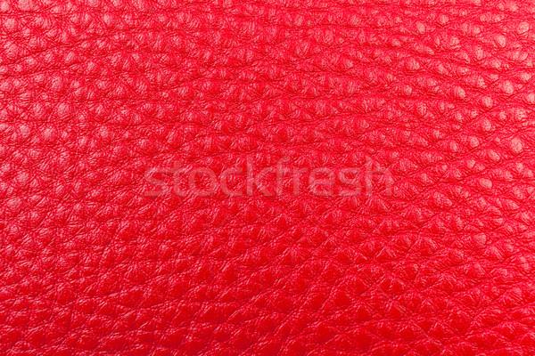 Rojo cuero textura resumen Foto stock © FrameAngel