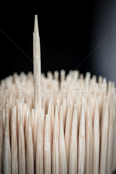 Bamboo wooden toothpicks outstanding abstract background Stock photo © FrameAngel