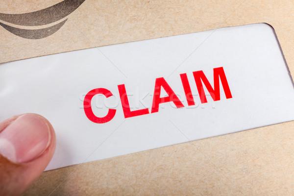 утверждать форме коричневый конверт можете страхования Сток-фото © FrameAngel