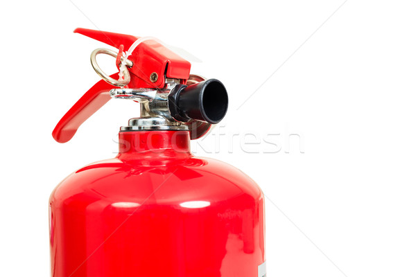 fire extinguisher head isolate on white background Stock photo © FrameAngel