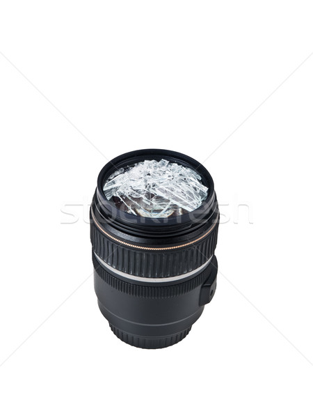 broken lens Stock photo © FrameAngel