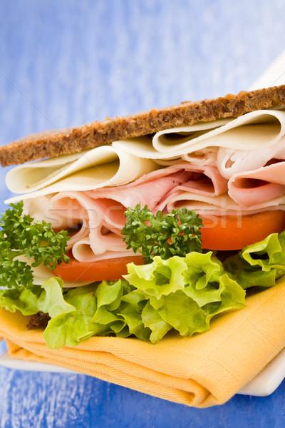 Cheese and Ham Sandwich Stock photo © Francesco83