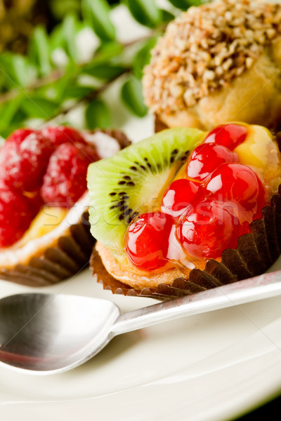 Pastries with fruits Stock photo © Francesco83
