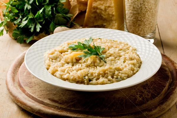 рисотто сыр пармезан фото блюдо продовольствие Сток-фото © Francesco83