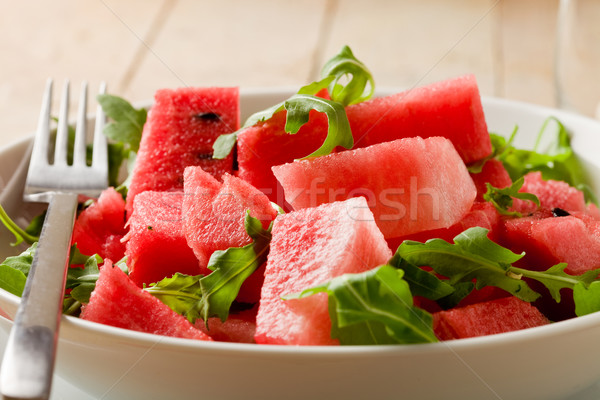 Watermelon and Arugula Salad Stock photo © Francesco83