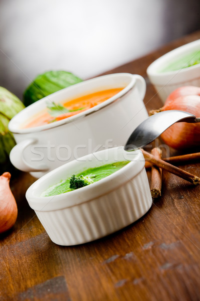 Vegetarian Soups Stock photo © Francesco83