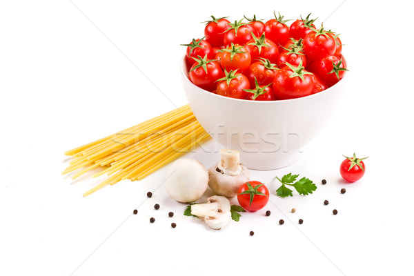 Ingredients for italian Pasta Stock photo © Francesco83