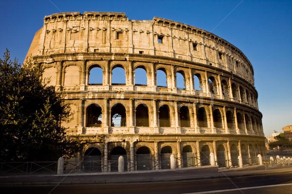 Колизей фото римской день свет здании Сток-фото © Francesco83