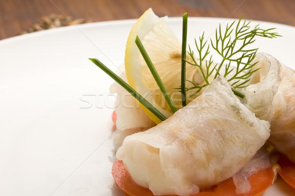 Deniz bas domates fotoğraf lezzetli Stok fotoğraf © Francesco83