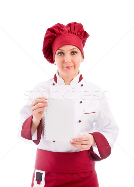 Chef presenting new menu Stock photo © Francesco83