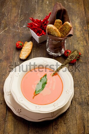 Tomato Soup Stock photo © Francesco83
