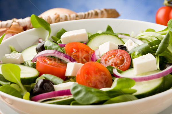 Greek Salad Stock photo © Francesco83
