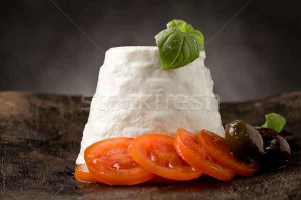 Ricotta Cheese with Tomatoes Stock photo © Francesco83