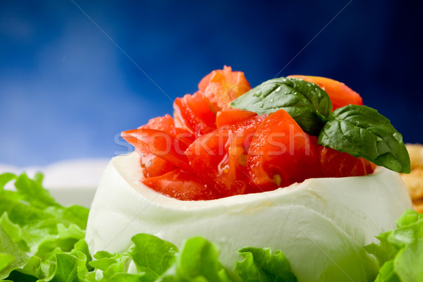 Stuffed Mozzarella Stock photo © Francesco83