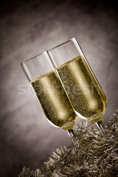 Stock photo: Champagner