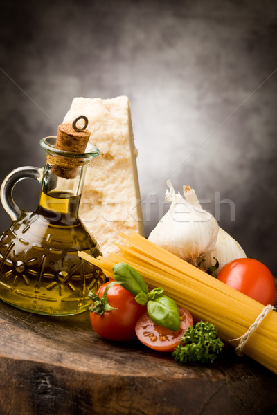 Ingredients for Italian Pasta 2 Stock photo © Francesco83