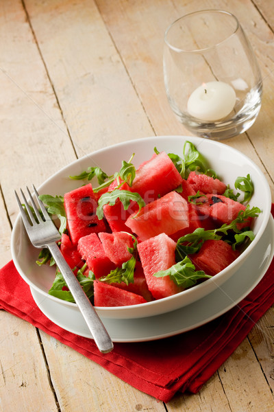 Watermelon and Arugula Salad Stock photo © Francesco83