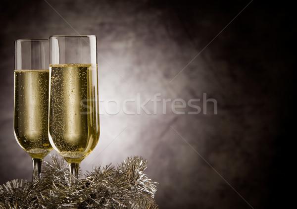 Stock photo: Champagner