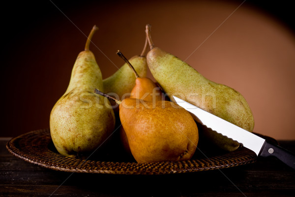 Pears in poor art style Stock photo © Francesco83
