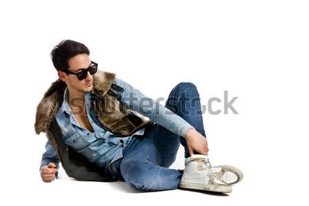 городского стиль фото молодые модный человека Сток-фото © Francesco83