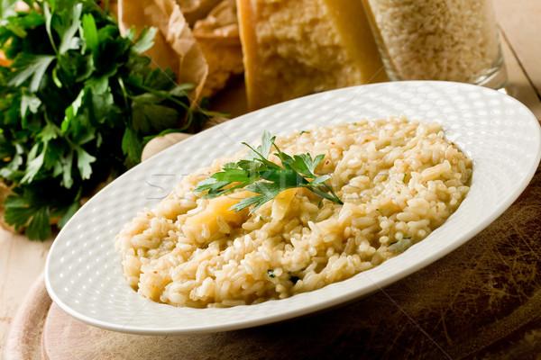 Risotto with Grana Parmesan Cheese Stock photo © Francesco83