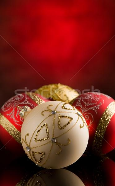 クリスマス 装飾 写真 農村 ストックフォト © Francesco83