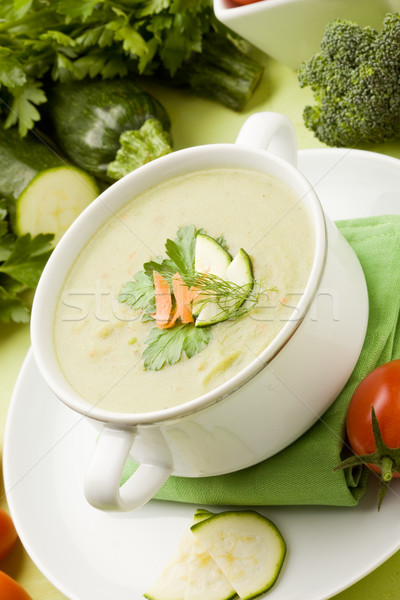 Vegetable Soup Stock photo © Francesco83