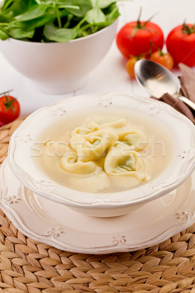 Tortellini in Broth Stock photo © Francesco83