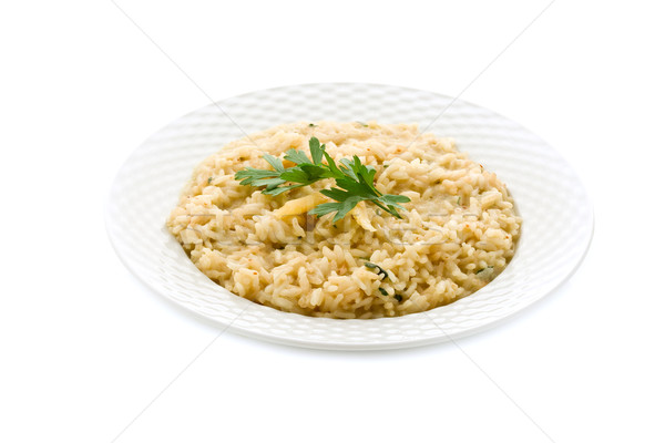 Risotto with Grana Parmesan Cheese Stock photo © Francesco83