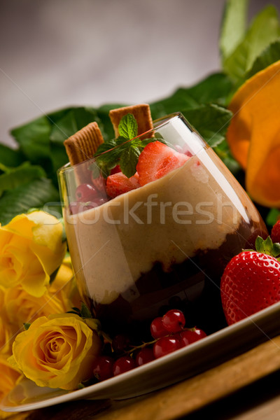 Chocolate Hazelnut Mousse  Stock photo © Francesco83