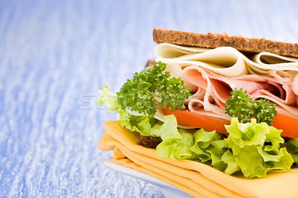 сыра ветчиной сэндвич фото большой Сток-фото © Francesco83