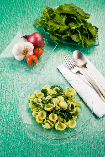 Orecchiette with Turnip tops Stock photo © Francesco83
