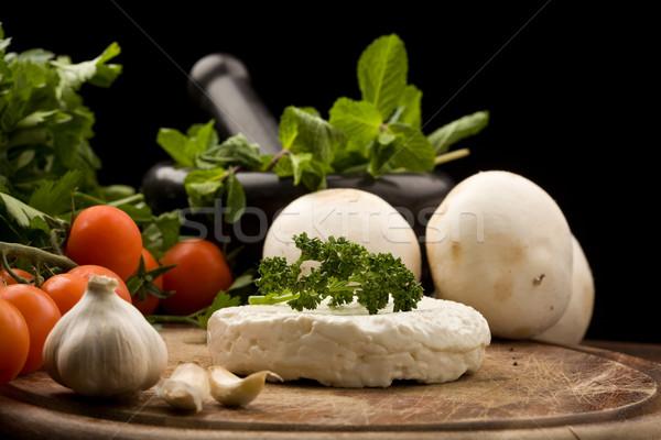 Ricotta cheese Stock photo © Francesco83