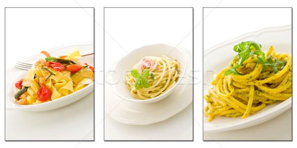 Pasta Collage Stock photo © Francesco83
