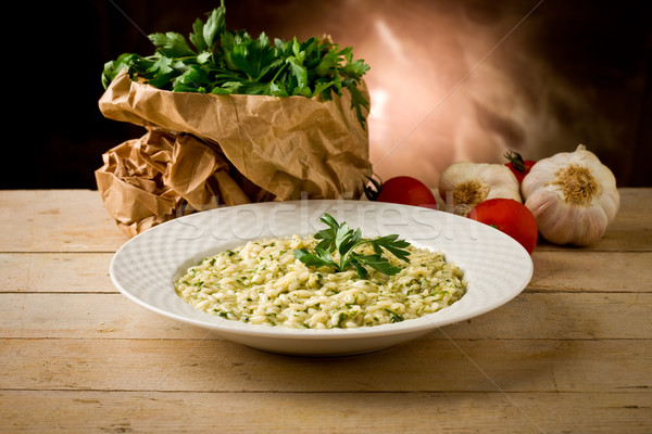 Risotto with Herbs Stock photo © Francesco83