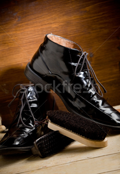 Shoe polishing tools Stock photo © Francesco83