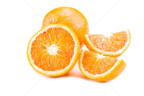 Narancsok közelkép fotó finom friss fehér Stock fotó © Francesco83