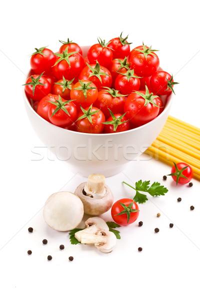 Ingredienti italiana pasta foto usato Foto d'archivio © Francesco83